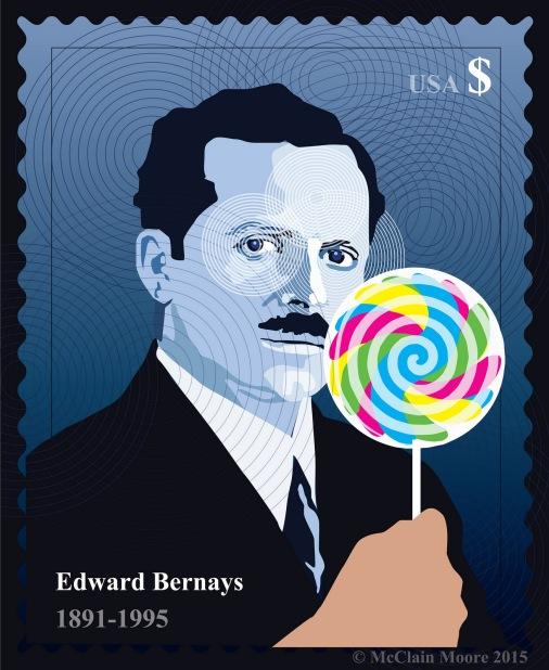 Edward Bernays, postage stamp