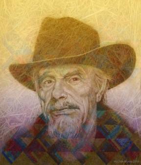 Merle Haggard Portrait