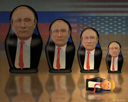 Putin's Little Doll